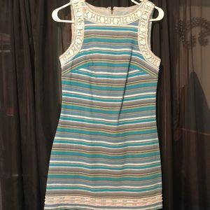 Colorful Striped Dress- size 2